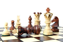 Chess competition royalty free stock photography