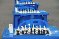 Chess competition Royalty Free Stock Image