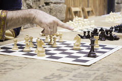 Chess Competition Royalty Free Stock Images