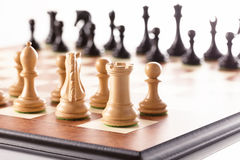 Chess,competitors meeting Royalty Free Stock Photography