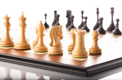 Chess,competitors meeting Stock Photography