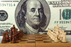 Chess composition Royalty Free Stock Photos