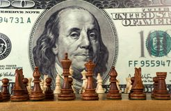 Chess composition Stock Images