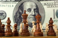 Chess composition Stock Image