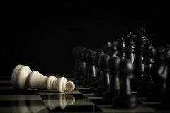 Chess concept Royalty Free Stock Photography