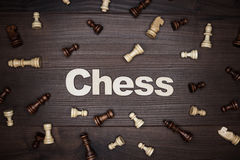 Chess concept Royalty Free Stock Photo