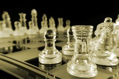 Chess - Cornered Royalty Free Stock Photography