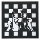 Chess cut from an old paper Royalty Free Stock Photos