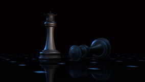 Chess 3d Stock Photography