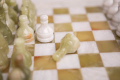 Chess desk Stock Image