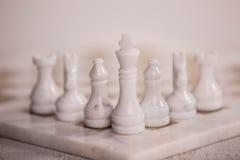 Chess desk Stock Photo