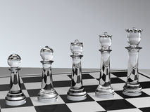 Chess Development Stock Photography