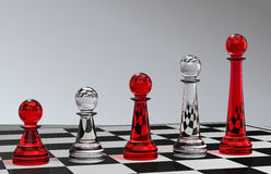 Chess Development Royalty Free Stock Images