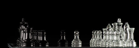 Chess Diplomacy Stock Photography