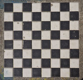 Chess or draught checker game board. Game board for playing draughts checkers or chesses stock photos