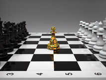 Chess dude Stock Images
