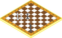 Chess etude Royalty Free Stock Photos