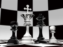 A Chess family Royalty Free Stock Photography