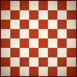 Chess field red Stock Image