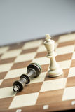 Chess figure, business concept strategy, leadership, team and su Royalty Free Stock Photo