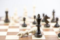 Chess figure, business concept strategy, leadership, team and su Stock Photo