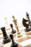 Chess figure, business concept strategy, leadership, team and su Stock Image
