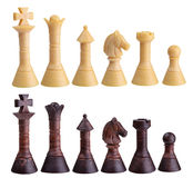 Chess figure isolated on the white background Stock Photos