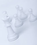 Chess figure - king Stock Photos