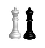 Chess figures. Royalty Free Stock Images