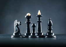 Chess figures Royalty Free Stock Photo