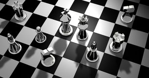 Chess, Figures, Chess Pieces, King Stock Photo