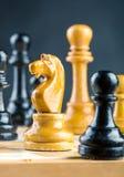 Chess figures Stock Image