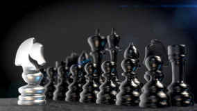Chess figures Royalty Free Stock Images