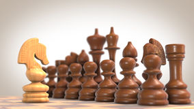 Chess figures Stock Images