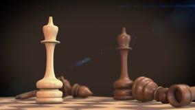 Chess figures Royalty Free Stock Photos