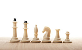 Chess figures isolated Stock Photo
