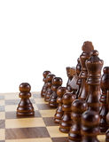 Chess figures isolated on white Stock Image