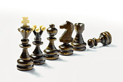 Chess figures Royalty Free Stock Photos