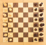 Chess Figures On Board Stock Images