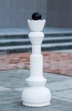 Chess figures outdoor. Stock Photo