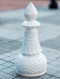 Chess figures outdoor. Stock Photo
