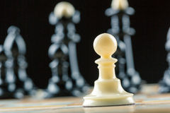Chess figures Stock Photography