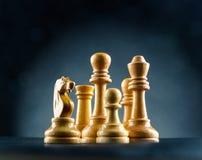 Chess figures Stock Photos