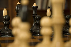 Chess figurines Royalty Free Stock Images