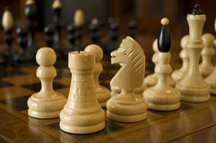 Chess figurines Stock Images