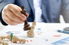 Free Chess Financial, Leader Strategy In Business Stock Photography - 102303432