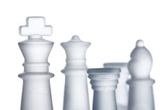 Chess formation Royalty Free Stock Photos