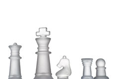 Chess formation Royalty Free Stock Images