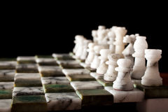 Chess formation Royalty Free Stock Photography
