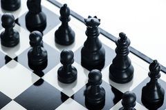 Chess full army Stock Image